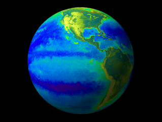 NASA satellite data capture a big climate effect on tiny ocean life