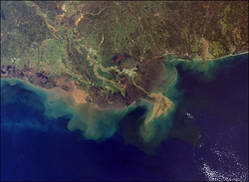 Satellites Spot Mighty Mississippi – In The Atlantic