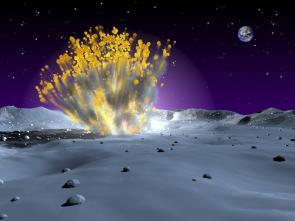 Astronomers Capture Rare Lunar Meteor Strike
