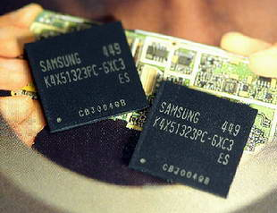 Samsung Now Mass Producing First 90nm 512Mb Mobile DRAM