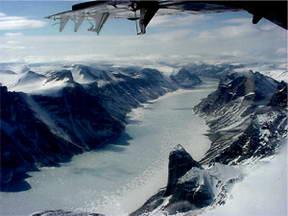 Canada's Shrinking Ice Caps