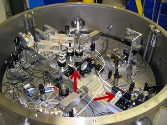 This NIST vacuum chamber is used to measure millimeter distances more accurately than ever before