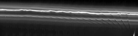 Cassini finds Prometheus a sculptor of Saturn's rings