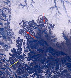 China's Wall Less Great in View from Space