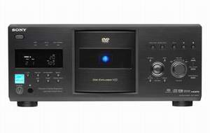 Sony's 400-Disk HDMI DVD/SA-CD Changer