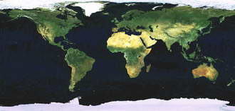 Earth map