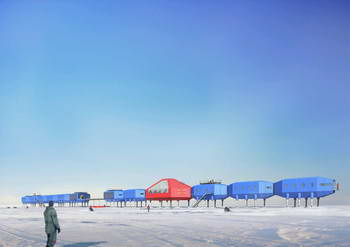 Futuristic design wins competition for new Antarctic Research Station 1