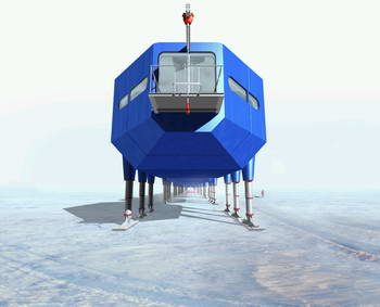 Futuristic design wins competition for new Antarctic Research Station 2
