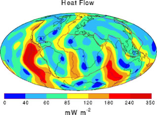 Earth's conductive heat