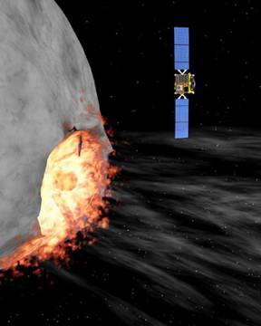 Artist's impression of ESA's Hildalgo spacecraft. Credit: ESA
