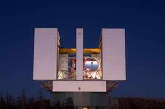 First Light for the Large Binocular Telescope