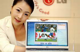 LG releases world's first DMB notebook PC