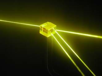 Stoping light in quantum leap