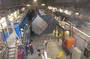 NuMI / MINOS Near Detector Construction at Fermilab