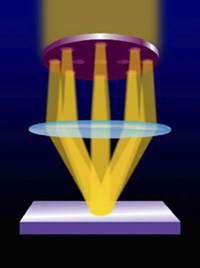 nano vision for an optical microscope