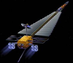 Artist's concept of a Prometheus spacecraft. Credit: NASA