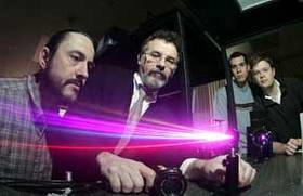 ultrafast laser beams