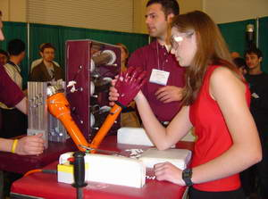 Robotic Arm Bested by High Schooler