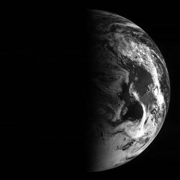Rosetta's view of Earth 2