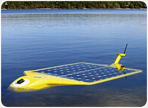 New Solar Underwater Robot Technology