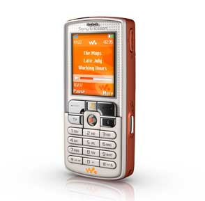 W800 - the first Walkman branded mobile phone