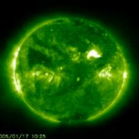 Sunspot Creates a Stir; Auroras Likely