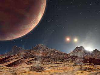 First Planet Under Three Suns Is Discovered