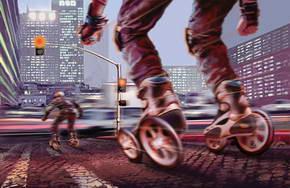 Radically-Designed Skates Improve Performance