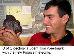Manitoba meteorite hunter scores again