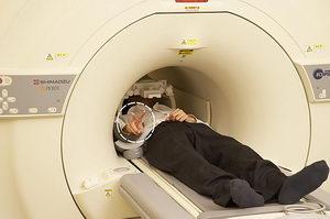 mri brain scan machine