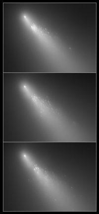 views of Comet 73P/Schwassmann-Wachmann 3
