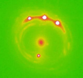 Astronomers see inside a quasar for the first time