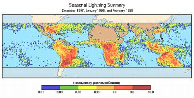 NASA lightning research highlights safety awareness week