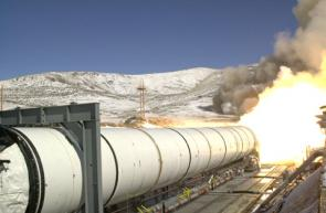 NASA Successfully Completes Solid Rocket Motor Test
