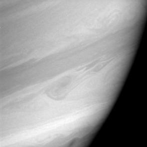 Two Saturnian storms swirl in the region informally dubbed