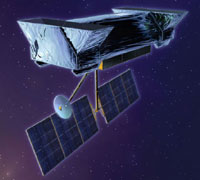 Artist's concept of SIM PlanetQuest, a NASA mission scheduled to launch within the next decade