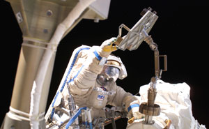 Station Spacewalkers to Install Electrical Monitor