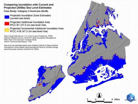NASA Looks at Sea Level Rise, Hurricane Risks to New York City