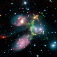 Gigantic cosmic cataclysm in Stephan's Quintet of galaxies
