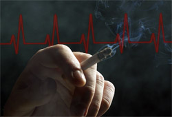 Smokers seven times more likely to receive jolt from heart devices