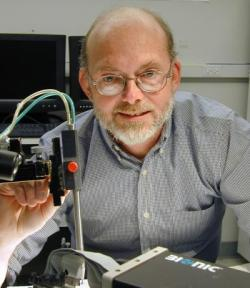 Bioengineer Greg Clark