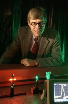 Robert Boyd, professor of optics (PHOTO CREDIT: University of Rochester)