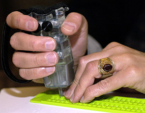 Undergraduates Devise Inexpensive Hand-held Braille Writer