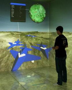 Iowa State's C6 virtual reality room