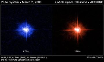 New Hubble images show similar colors for Pluto's moons