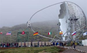 MAGIC Telescope Finds Microquasar