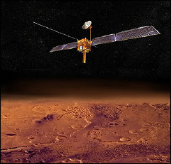 NASA artist\'s conception image shows the Mars Reconnaissance Orbiter (MRO)