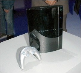The new PlayStation 3 console
