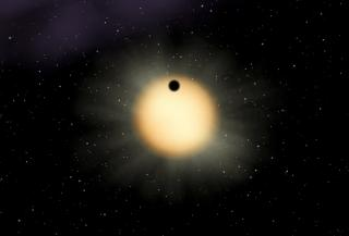 Massive Planet Found by Astronomers Using Novel Network of Tiny Telescopes