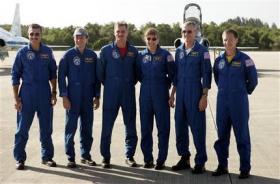 Atlantis crew in Florida for rehearsals
